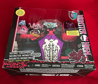 Monster High Doll Secret Creepers Crypt Dolls Playset Birthday Party Toy Gift