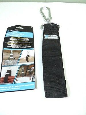"Crawford Heavy Duty 36"" Velcro Storage Strap With Heavy Duty Zinc Plated Hook"