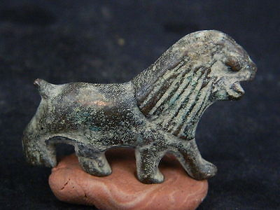 Ancient Bronze Lion Medieval 1400 AD        #GL1752