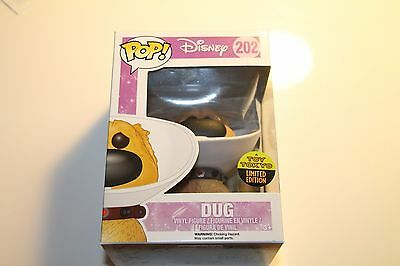 Funko Pop Toy Tokyo SDCC 2016 Exclusive Disney Up DUG WITH CONE OF SHAME  #202