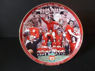"Danbury Mint Liverpool FC Plate ""The Shankly Years"""