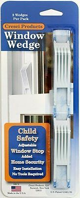 NEW - Cresci Products - Window Wedge (2 Per Pack) WHITE color
