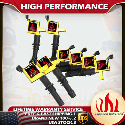 Set of 8 DG511 Ignition Coils Pack for Ford F-150 Expedition 4.6L 5.4L 2004-2008