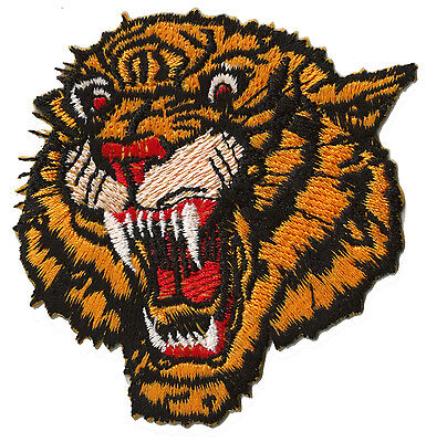 Badge plating fusible coat of arms patch Tiger small / patch 933