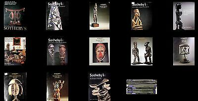 13  Christies & Sothebys African Tribal Oceanic Auctions Catalogs 10-18