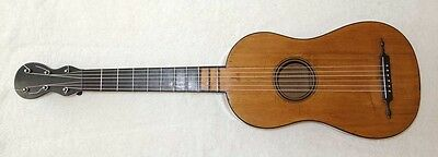 Vintage 1808 Mazarand Early Romantic Guitar / Mirecourt, Restored by Lucio Nuñez