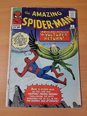 The Amazing Spider-Man #7 ~ VERY GOOD VG ~ (1963, Marvel Comics)