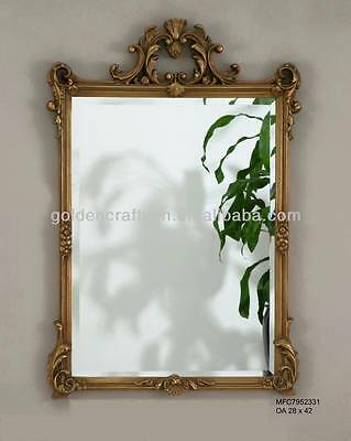 French provincial style Gold frame mirror