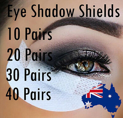 Disposable Eyeshadow Shields for Perfect Eye Makeup Undereye Makeup Pads