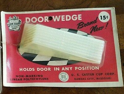 Vtg. Door Wedge