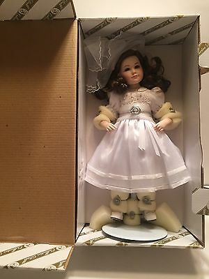 Holy Communion Doll Mary Katherine Franklin Mint Rare Production Quality Sample
