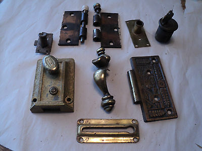 Lot of  Antique and Vintage Door Hareware