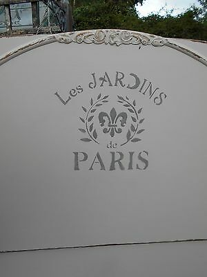 Vintage  French  Style   Painted  Distressed  Single  Bed  #2