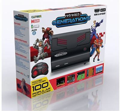 Retro-Bit Generations - Plug and Play Game Console w/90x Built-In Games