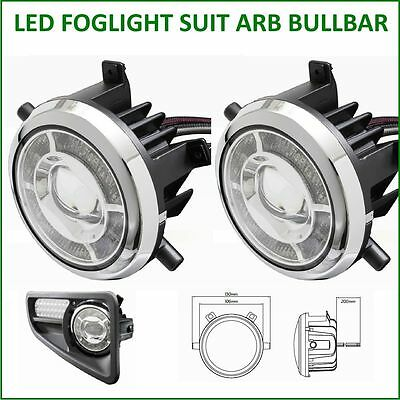 Led Foglight Suit Arb Bullbar Direct Replacement Adr 4Wd Bull Bar Fog Lights