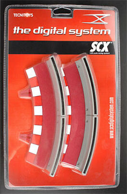 20120 SCX Digital, Inner Curve (R1) Outside BORDERS and Barrier (4), Brand NEW