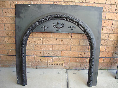 FIREPLACE METAL FASCIA/SURROUND 96CM X 97.5CM, PICK UP 2766 Rooty Hill nsw