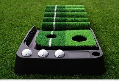 Quality Portable Golf Practice Putting Mat - suitable for indoor and outdoor.