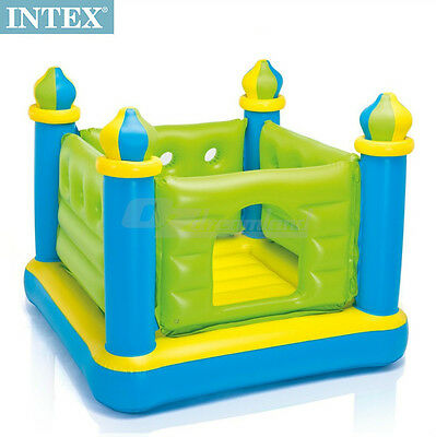 Intex Inflatable Kids Jump-O-Lene Ball Pit Castle Bouncer Trampoline