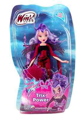 Winx Club Doll With Stormy Trix Power 28cm 01947 witches with moving wings