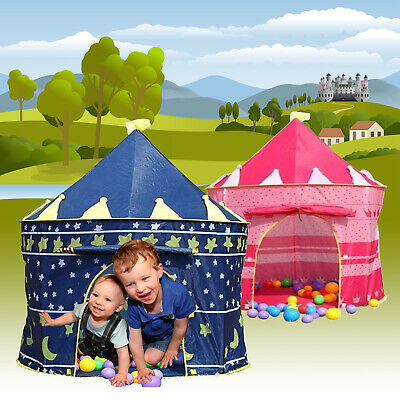 Childrens Kids Pop Up Wizard Princess Castle Tent Indoor/outdoor Playhouse
