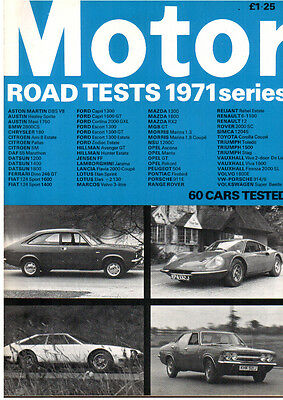 The Motor Road Tests Annual 1971