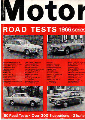 The Motor Road Tests Annual 1966