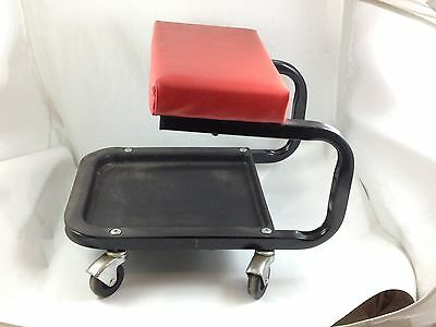 Padded Roller Seat Automotive Creeper Stool  Car Repairs Automobile Garage Tools