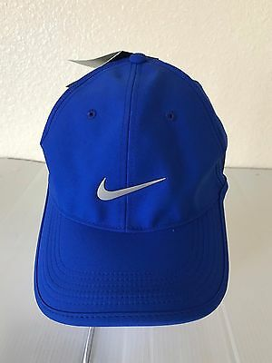 Nwt Nike Golf Dri Fit Adult Unisex Cap Hat Adjustable Blue Style 639673 404