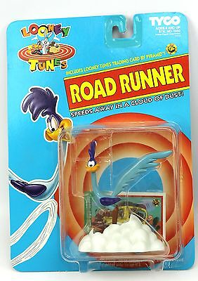 ROAD RUNNER Speeds in Cloud of Dust Looney Tunes Tyco Action Figure Toy 1993