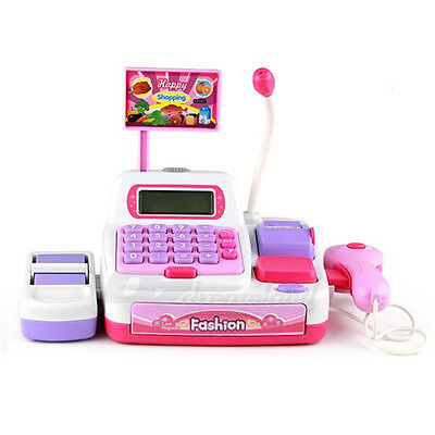 Cash Register with 33 Accessories Role Play Kids Children Toy