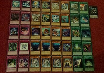 Yu-Gi-Oh Fish Deck - 40 cards complete BONUS 5 cards