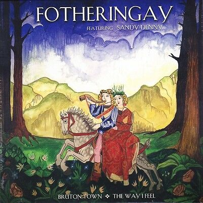 "Fotheringay ft. Sandy Denny - Bruton Town - 7"" RSD 2015 Vinyl 45 - New & Sealed"
