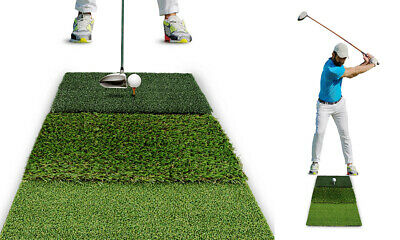 A99Golf 3-Fold Practice Mat Driving Chipping Training Aids | Backyard & Indood