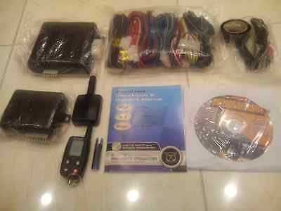 bulldog deluxe 200B LCD 2 way remote starter w/ bypass module