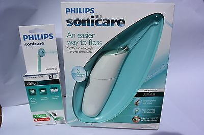 Philips Sonicare AirFloss 100 Series + (x2 Brand New Nozzle Heads)