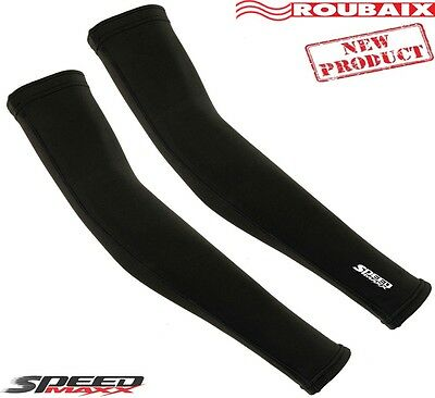 Roubaix Cycling Arm Sleeves Warmer Winter Thermal Running Compression Base Layer