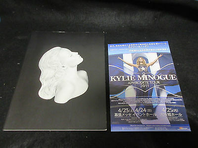Kylie Minogue Aphrodite Live 2011 World Tour Book with Japanese Flyer PWL