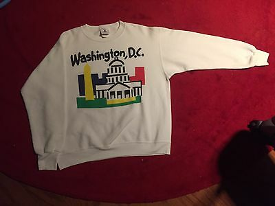 Vintage Washington DC Sweatshirt LARGE