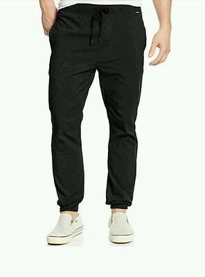 Hurley Dri-Fit Drifter Jogger Pants (Obsidian XL) Mens Unisex Thermal Base Layer