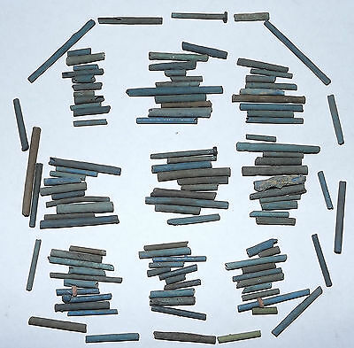 More than a Hundred 2500 Year old Ancient Egyptian Faience Mummy Beads (#D9372)