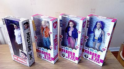 Little Mix Dolls Perrie Jesy Jade Plus 1 Direction Zane Doll All Boxed Nrfb Vgc!