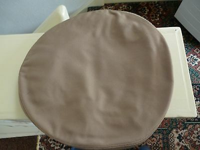 """US ARMY or NAVY??  TAN/KHAKI CAP COVER BY N.S. MEYER, NEW YORK SIZE.  7.1/8."""""""