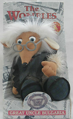 The Wombles Toy Great Uncle Bulgaria  Golden Bear Brand New In Its Original Box