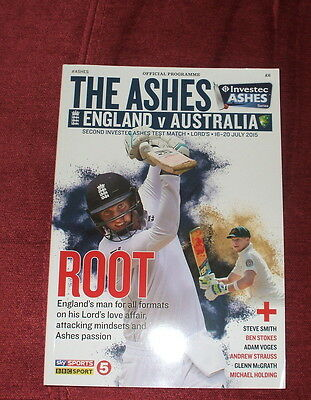 England V Australia The Ashes 2Nd Test At Lords 2015