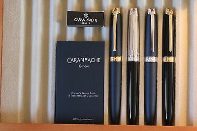*SALE* Caran d'Ache Leman Fountain Pen Collection 5 colors to choose from