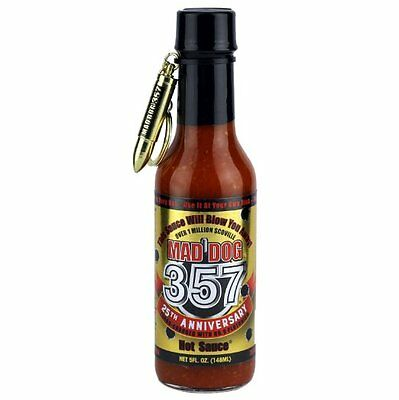 """MAD DOG 357 25th ANNIVERSARY EDITION"" - Made with 9 Million Scoville Extract"