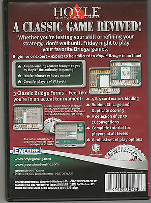 Hoyle® Bridge Game for advanced and beginners (PC CD-ROM)