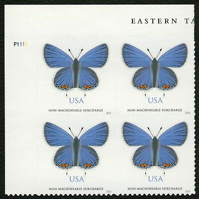 #5136 Eastern Tailed-Blue Butterfly, Plt Blk [UL], Mint **ANY 4=FREE SHIPPING**