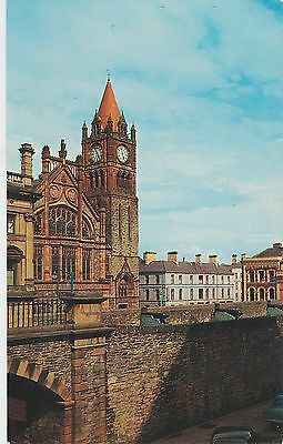 Guildhall And Walls, Londonderry, Co. Derry - Circa 1960s - Unused